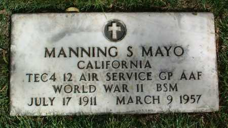 MAYO, MANNING S. - Yavapai County, Arizona | MANNING S. MAYO - Arizona Gravestone Photos