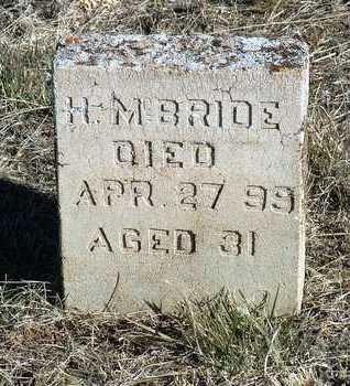 MCBRIDE, HUGH M. - Yavapai County, Arizona | HUGH M. MCBRIDE - Arizona Gravestone Photos