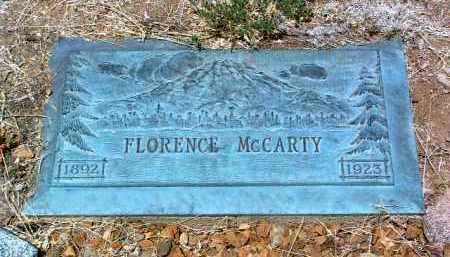 MCCARTY, FLORENCE - Yavapai County, Arizona | FLORENCE MCCARTY - Arizona Gravestone Photos