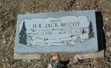 MCCOY, HARRY K. (JACK) - Yavapai County, Arizona   HARRY K. (JACK) MCCOY - Arizona Gravestone Photos
