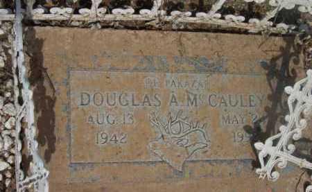 MCCAULEY, DOUGLAS ARTHUR - Yavapai County, Arizona   DOUGLAS ARTHUR MCCAULEY - Arizona Gravestone Photos