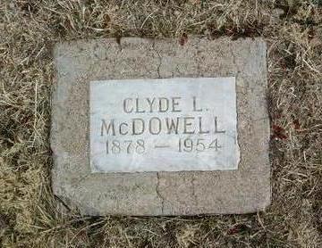 MCDOWELL, CLYDE L. - Yavapai County, Arizona | CLYDE L. MCDOWELL - Arizona Gravestone Photos