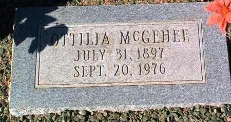 BRAUNE MCGEHEE, OTTILIA - Yavapai County, Arizona   OTTILIA BRAUNE MCGEHEE - Arizona Gravestone Photos