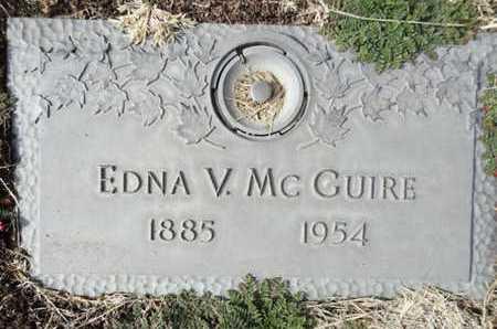MCGUIRE, EDNA VERNA - Yavapai County, Arizona | EDNA VERNA MCGUIRE - Arizona Gravestone Photos