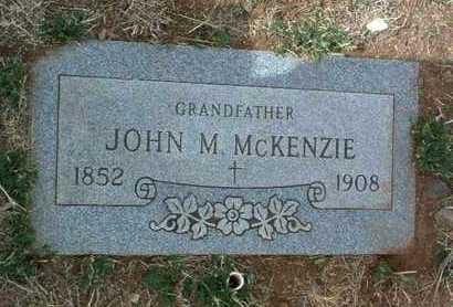 MCKENZIE, JOHN MORDOCK - Yavapai County, Arizona   JOHN MORDOCK MCKENZIE - Arizona Gravestone Photos