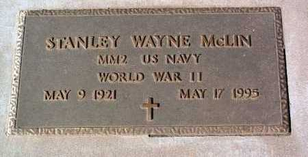 MCLIN, STANLEY WAYNE - Yavapai County, Arizona | STANLEY WAYNE MCLIN - Arizona Gravestone Photos