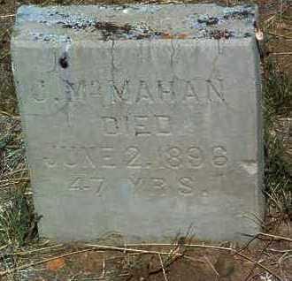 MCMAHAN, JOHN - Yavapai County, Arizona   JOHN MCMAHAN - Arizona Gravestone Photos