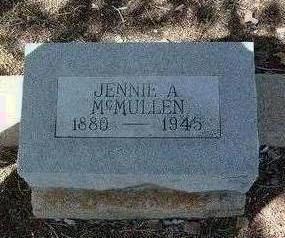 ANDREWS MC MULLEN, JENNIE JUNE - Yavapai County, Arizona   JENNIE JUNE ANDREWS MC MULLEN - Arizona Gravestone Photos