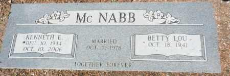 MCNABB, BETTY LOU - Yavapai County, Arizona | BETTY LOU MCNABB - Arizona Gravestone Photos