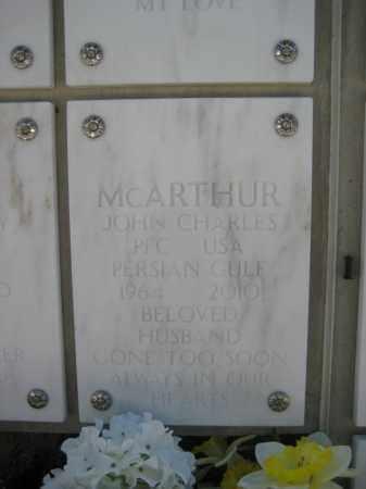 MCARTHUR, JOHN CHARLES - Yavapai County, Arizona | JOHN CHARLES MCARTHUR - Arizona Gravestone Photos