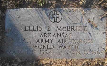 MCBRIDE, ELLIS E. - Yavapai County, Arizona   ELLIS E. MCBRIDE - Arizona Gravestone Photos