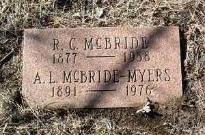 MCBRIDE, ROBERT CLINTON - Yavapai County, Arizona   ROBERT CLINTON MCBRIDE - Arizona Gravestone Photos