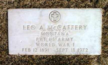 MCCAFFERY, LEO A. - Yavapai County, Arizona | LEO A. MCCAFFERY - Arizona Gravestone Photos