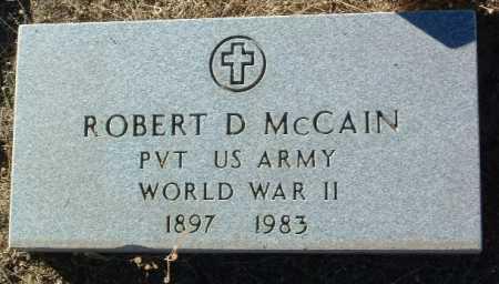MCCAIN, ROBERT DARRELL - Yavapai County, Arizona | ROBERT DARRELL MCCAIN - Arizona Gravestone Photos