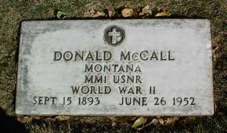 MCCALL, DONALD - Yavapai County, Arizona | DONALD MCCALL - Arizona Gravestone Photos