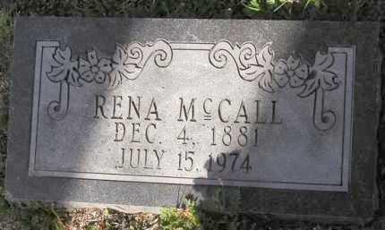MCCALL, RENA - Yavapai County, Arizona   RENA MCCALL - Arizona Gravestone Photos