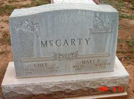MCCARTY, MARY P. - Yavapai County, Arizona | MARY P. MCCARTY - Arizona Gravestone Photos