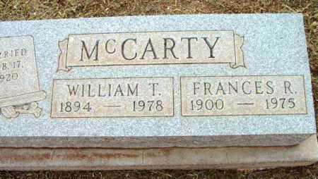 MCCARTY, FRANCES R. - Yavapai County, Arizona | FRANCES R. MCCARTY - Arizona Gravestone Photos