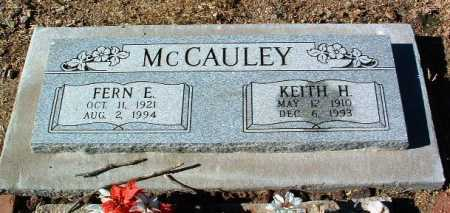MCCAULEY, KEITH HAROLD - Yavapai County, Arizona | KEITH HAROLD MCCAULEY - Arizona Gravestone Photos
