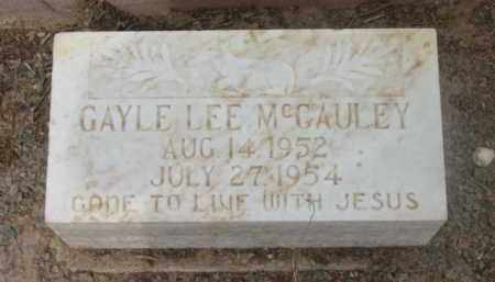 MCCAULEY, GAYLE LEE - Yavapai County, Arizona | GAYLE LEE MCCAULEY - Arizona Gravestone Photos