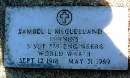 MCCLELLAND, SAMUEL L. - Yavapai County, Arizona   SAMUEL L. MCCLELLAND - Arizona Gravestone Photos