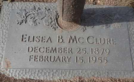 MCCLURE, ELISEA B. - Yavapai County, Arizona | ELISEA B. MCCLURE - Arizona Gravestone Photos