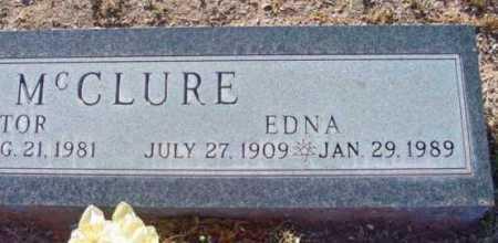 MCCLURE, EDNA - Yavapai County, Arizona   EDNA MCCLURE - Arizona Gravestone Photos