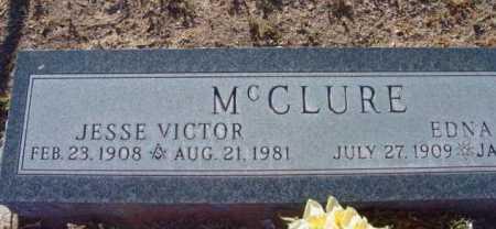 MCCLURE, JESSE VICTOR - Yavapai County, Arizona | JESSE VICTOR MCCLURE - Arizona Gravestone Photos