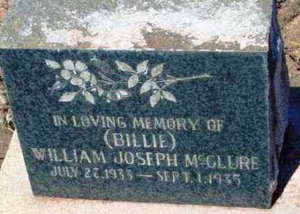 MCCLURE, WILLIAM JOSEPH - Yavapai County, Arizona | WILLIAM JOSEPH MCCLURE - Arizona Gravestone Photos