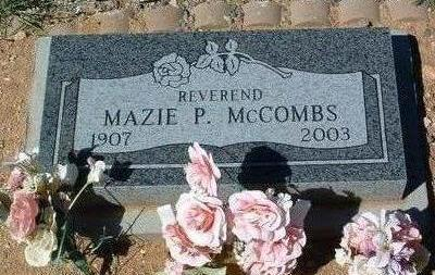 DEARMOND MCCOMBS, M.P. - Yavapai County, Arizona | M.P. DEARMOND MCCOMBS - Arizona Gravestone Photos