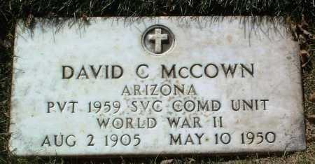 MCCOWN, DAVID C. - Yavapai County, Arizona | DAVID C. MCCOWN - Arizona Gravestone Photos