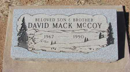 MCCOY, DAVID MACK - Yavapai County, Arizona   DAVID MACK MCCOY - Arizona Gravestone Photos