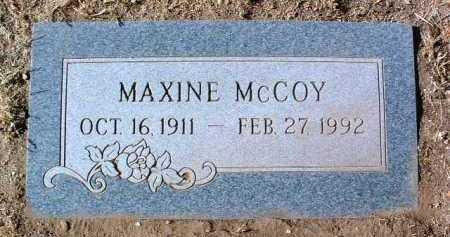 MCCOY, IRMA MAXINE - Yavapai County, Arizona   IRMA MAXINE MCCOY - Arizona Gravestone Photos