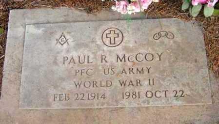 MCCOY, PAUL R. - Yavapai County, Arizona | PAUL R. MCCOY - Arizona Gravestone Photos