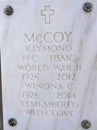 MCCOY, RAYMOND - Yavapai County, Arizona | RAYMOND MCCOY - Arizona Gravestone Photos