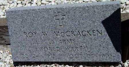 MCCRACKEN, ROY WILLIAM - Yavapai County, Arizona | ROY WILLIAM MCCRACKEN - Arizona Gravestone Photos