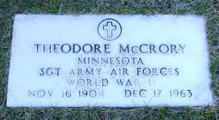 MCCRORY, THEODORE - Yavapai County, Arizona | THEODORE MCCRORY - Arizona Gravestone Photos