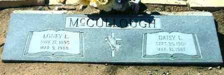 MCCULLOUGH, ALONZO LEE (LONEY) - Yavapai County, Arizona   ALONZO LEE (LONEY) MCCULLOUGH - Arizona Gravestone Photos