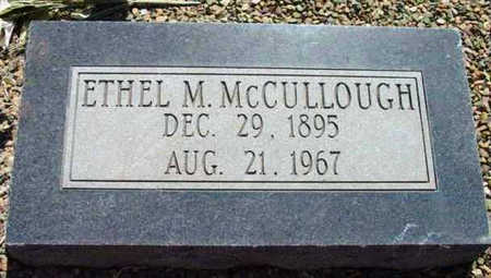 MCCULLOUGH, ETHEL MAE - Yavapai County, Arizona | ETHEL MAE MCCULLOUGH - Arizona Gravestone Photos