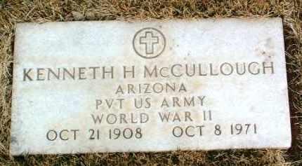 MCCULLOUGH, KENNETH H. - Yavapai County, Arizona | KENNETH H. MCCULLOUGH - Arizona Gravestone Photos