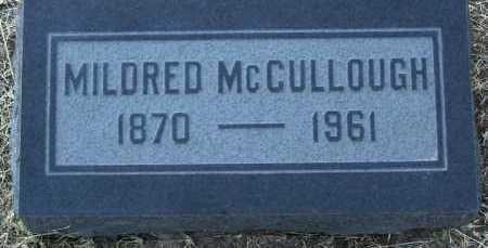 MCCULLOUGH, MILDRED S. - Yavapai County, Arizona | MILDRED S. MCCULLOUGH - Arizona Gravestone Photos