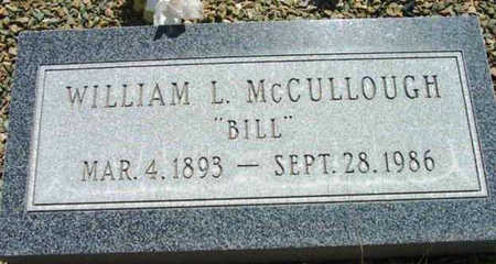 MCCULLOUGH, WILLIAM L. - Yavapai County, Arizona | WILLIAM L. MCCULLOUGH - Arizona Gravestone Photos