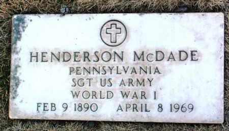MCDADE, HENDERSON - Yavapai County, Arizona   HENDERSON MCDADE - Arizona Gravestone Photos