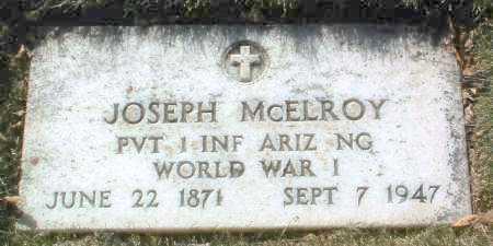 MCELROY, JOSEPH M. - Yavapai County, Arizona | JOSEPH M. MCELROY - Arizona Gravestone Photos
