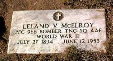 MCELROY, LELAND VERVAIN - Yavapai County, Arizona | LELAND VERVAIN MCELROY - Arizona Gravestone Photos