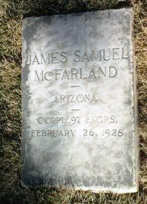 MCFARLAND, JAMES S. - Yavapai County, Arizona | JAMES S. MCFARLAND - Arizona Gravestone Photos
