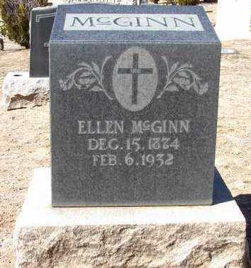 HAYES MCGINN, ELLEN - Yavapai County, Arizona   ELLEN HAYES MCGINN - Arizona Gravestone Photos