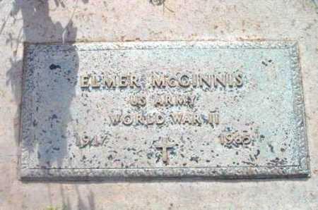 MCGINNIS, ELMER - Yavapai County, Arizona | ELMER MCGINNIS - Arizona Gravestone Photos