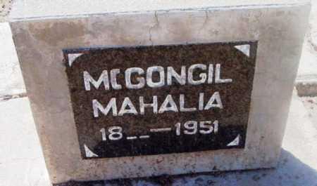 MILLER MCGONAGILL, MAHALIA - Yavapai County, Arizona | MAHALIA MILLER MCGONAGILL - Arizona Gravestone Photos