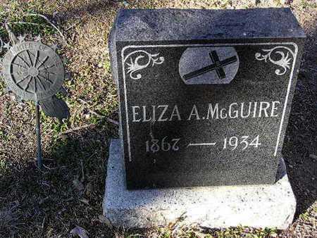 ASHFIELD MCGUIRE, ELIZA - Yavapai County, Arizona | ELIZA ASHFIELD MCGUIRE - Arizona Gravestone Photos